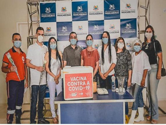 Mangabeiras é o primeiro município do Maranhão a concluir primeira etapa de vacinação contra a COVID-19