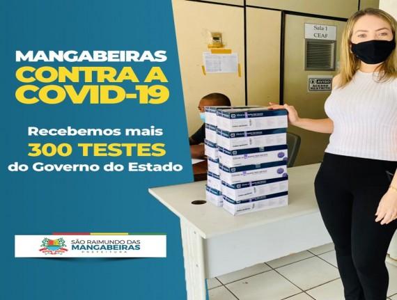 Secretaria de Saúde de Mangabeiras recebe da Secretaria de Saúde…