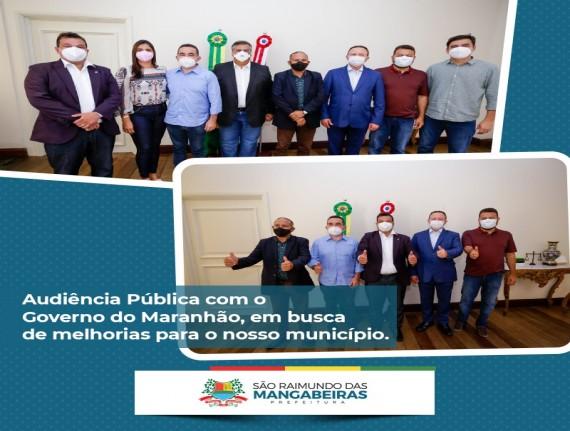 Prefeito Accioly Cardoso cumpre agenda em São Luís, se reúne…