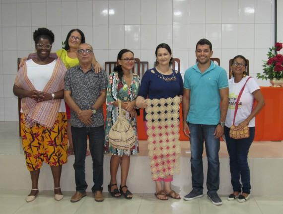 Secretaria de Turismo promove Oficina com artesãos de Tutóia…