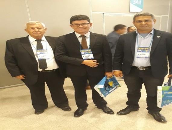 Prefeito Romildo Damasceno cumpre agenda em Brasília na programação da XXI Marcha a Brasília em Defesa…