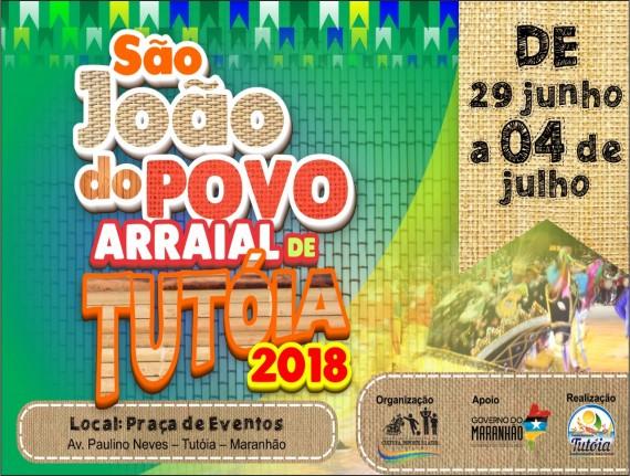 São João do Povo - Arraial de Tutóia 2018