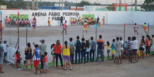 Inauguração da Arena de Beach Soccer de Urbano Santos
