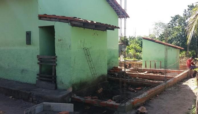 Reforma e ampliação escola do povoado Lagoinha