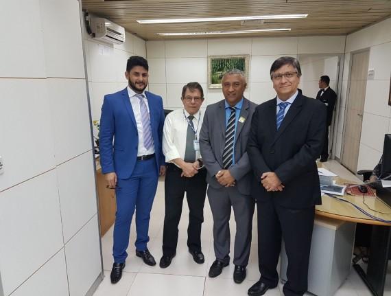 Prefeito Magrado Barros assina convênio com a Codevasf