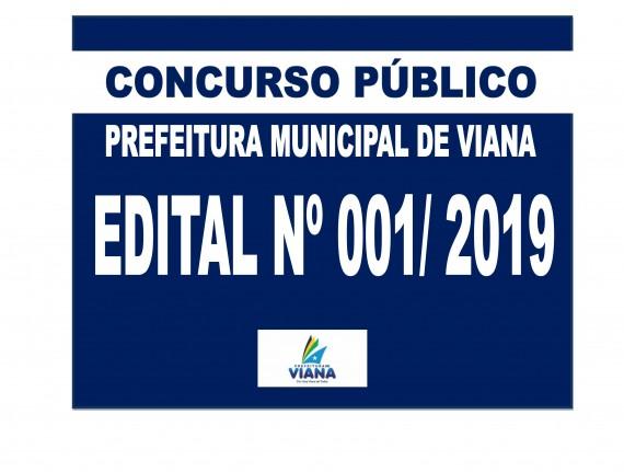 PREFEITURA MUNICIPAL DE VIANA LANÇA EDITAL 001/2019 DO CONCURSO…