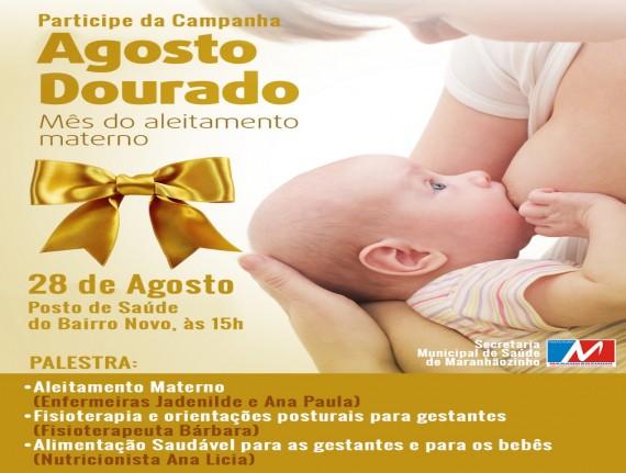 Agosto Dourado: Campanha voltada para a promoção do aleitamento…