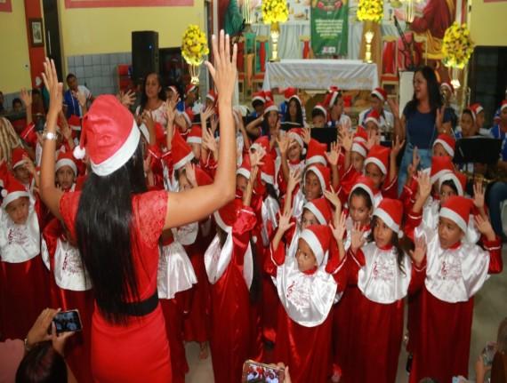 VI Concerto de Natal foi realizado pela SEMED de Maranhãozinho