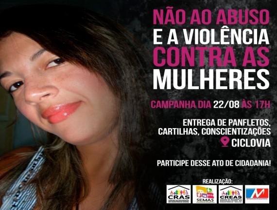 Agosto Lilás: SEMAS realiza campanha pelo fim da violência contra…