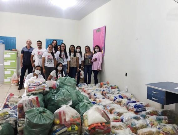 Prefeitura de Parnarama inicia entrega de cestas básicas para…