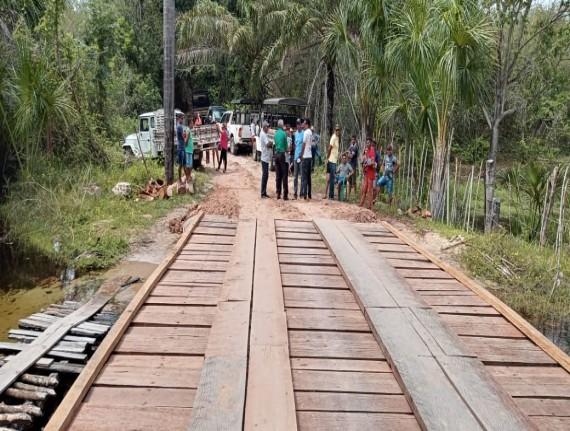 Prefeitura Municipal de Paulino Neves inaugura mais duas pontes…