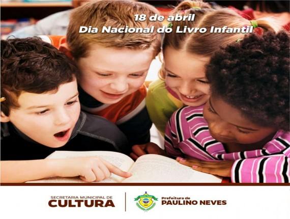 No Dia Nacional do Livro Infantil, Secretaria Municipal de Cultura lança projeto para incentivar a leitura