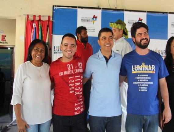 Secretários representaram município no lançamento do programa…