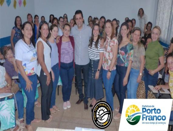 SECRETARIA MUNICIPAL DE EDUCAÇÃO PROMOVE PROGRAMA DE FORMAÇÃO PACTO PELA APRENDIGEM