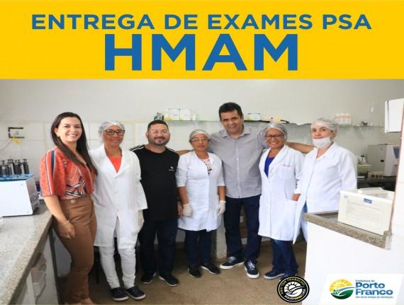 SECRETARIA MUNICIPAL DE SAÚDE FAZ ENTREGA DOS EXAMES DE PSA…