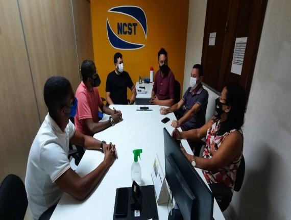 Secretários discutem as ações de combate à covid-19 com vereadores da Raposa