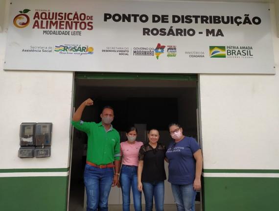 Referência no Maranhão, Ponto de Distribuição PAA Leite recebe…