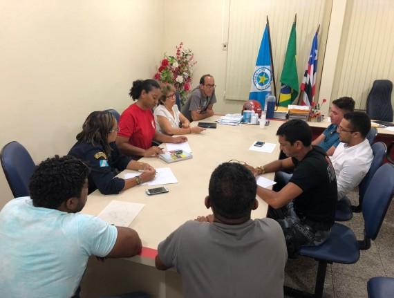 Prefeitura realiza reunião para tratar da segurança durante…