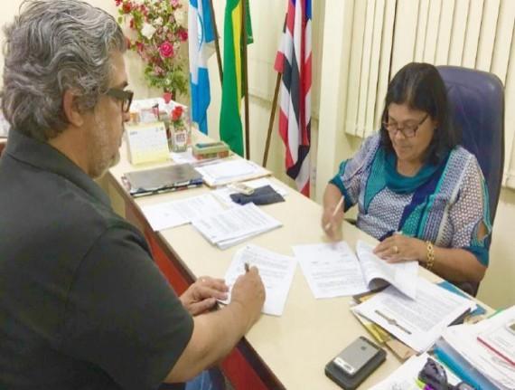 DOAÇÃO DE TRILHOS DA VALE IRÁ BENEFICIAR COMUNIDADES NO MUNICÍPIO…