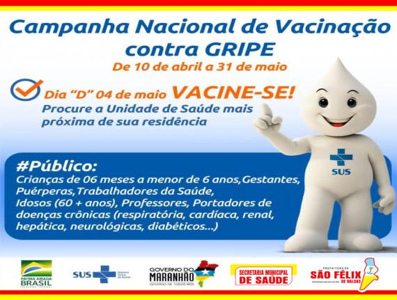 Campanha Nacional de Vacinação contra GRIPE