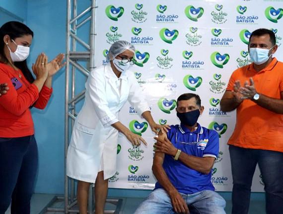 Prefeitura de São João Batista inicia a vacinação contra a Covid-19