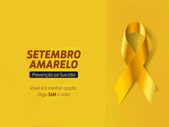 PALESTRA DE PREVENÇÃO AO SUICIDIO. SETEMBRO AMARELO 2018 - PREVENÇÃO…