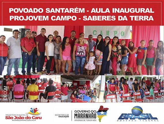 Secretaria Municipal de Educação de São João do Caru-MA, realiza…