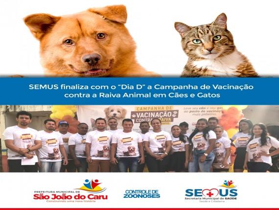 """SEMUS finaliza com o """"Dia D"""" a Campanha de Vacinação contra…"""